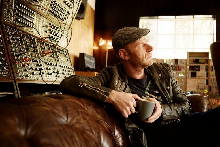 Junkie XL (Tom Holkenborg): 'Ik begon heel klein. In een studiootje van 3 bij 4 meter, waar krap een computer en twee gitaren in pasten.' Beeld RV