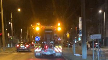 Vrieskou: eerste strooiwagens op de weg