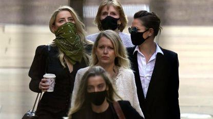 """Amber Heard scheert hoge toppen met gehaaid team van advocaten: """"Ze noemen hen 'Ambers Avengers'"""""""