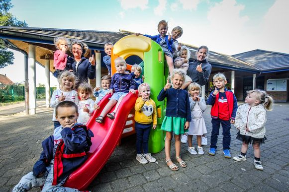 Het Oosthoekschooltje anno september 2019.