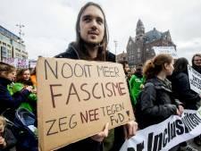 Anti-fascisten nemen geen afstand van betoger die Baudet dood wenst