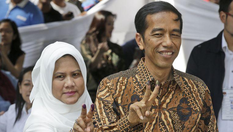 Gouverneur Joko Widodo van Jakarta. Beeld null