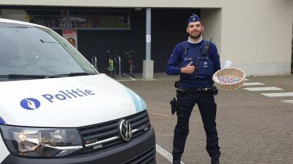 Delhaize Schoten schenkt twintig kilogram paaseieren aan lokale instellingen
