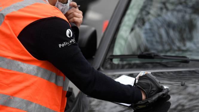 Politiezone verbaliseert vier personen voor niet naleven coronamaatregelen