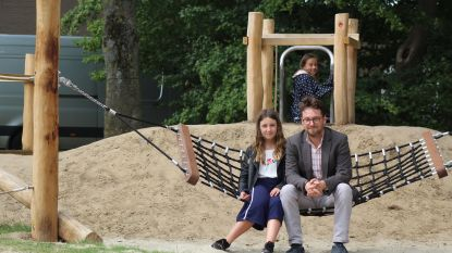 Nieuw speelterrein aan ontmoetingscentrum Outrijve geopend