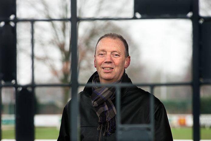 Willem Spijkstra in zijn periode als trainer bij RKZVC.