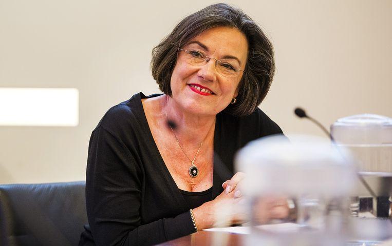 Oud-voorzitter van de Tweede Kamer Gerdi Verbeet. Beeld anp