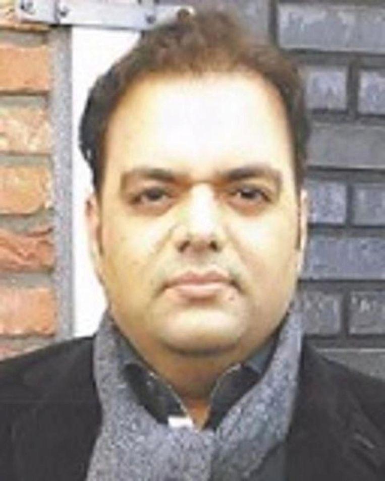 De politie gaat ervan uit dat vader Shehzad Hemani zijn dochter heeft ontvoerd Beeld Politie