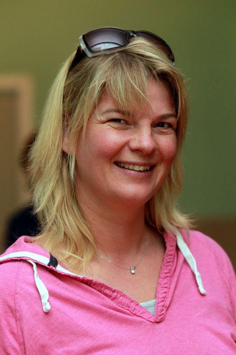 Deelnemer Sarah Verhaeghe.
