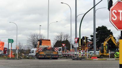 Werkzaamheden aan Nieuwe Mechelsesteenweg hervat: op- en afrit E314 in Herent afgesloten voor verkeer