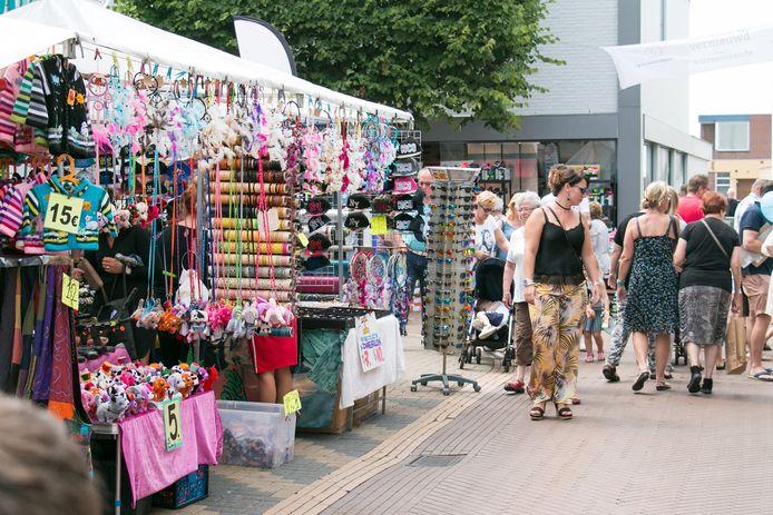 Dit jaar geen braderie, maar een zomermarkt in het centrum van 's-Gravenzande.