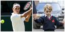 Roger Federer et le prince George
