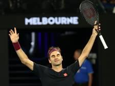 Federer a frôlé l'élimination à Melbourne