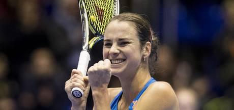 Schoofs snel klaar bij rentree op WTA-toernooi