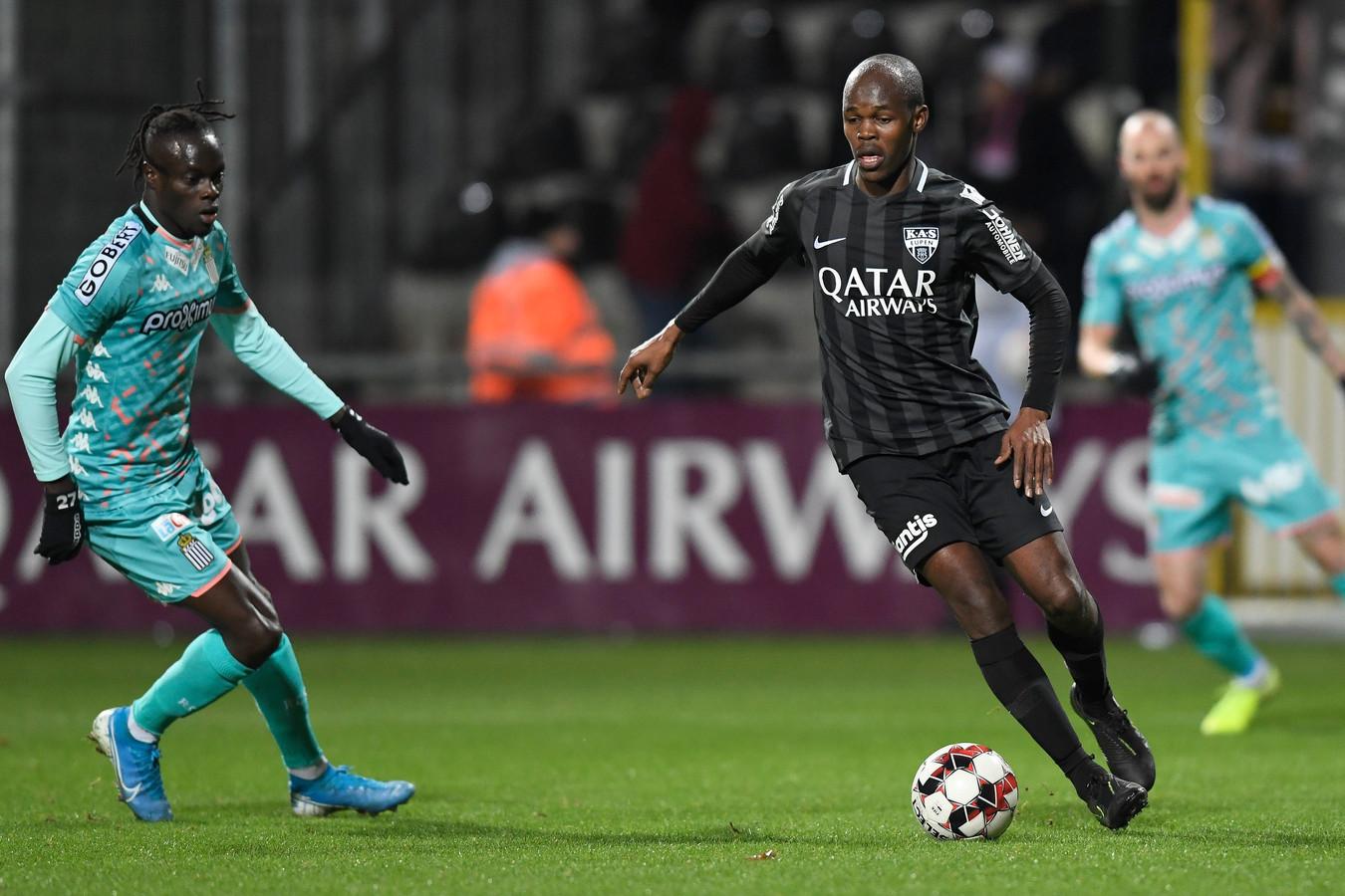 Premier match avec Eupen et premier but pour Knowledge Musona, prêté par Anderlecht jusqu'à la fin de la saison.