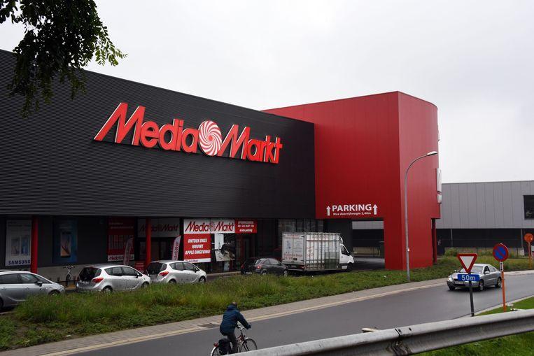 MediaMarkt aan de Parklaan in Turnhout.