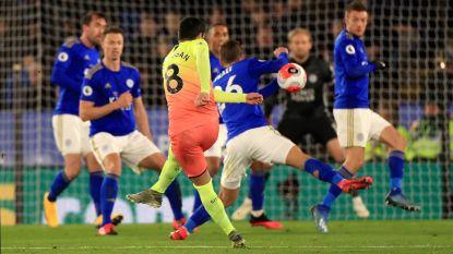 Twee keer hands van Rode Duivels gaan over de tongen, Jesus schenkt City met late treffer zege tegen Leicester