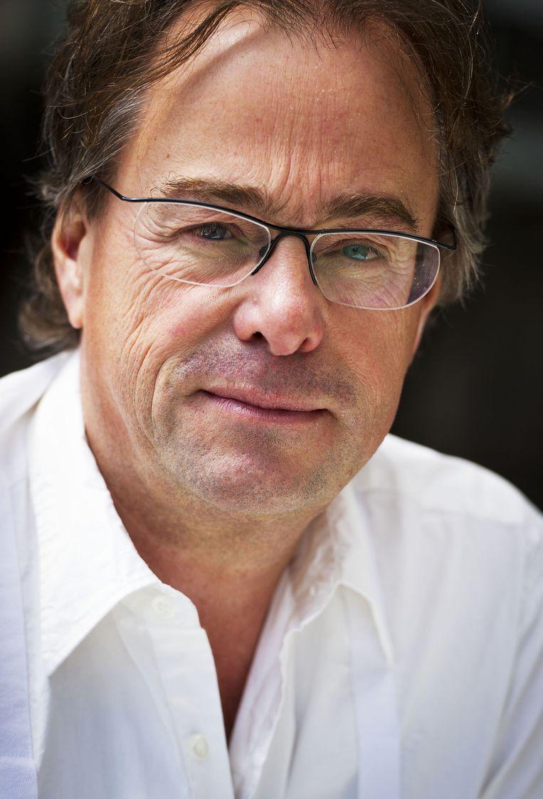 Hans Laroes, tot 2011 hoofdredacteur van het NOS Journaal Beeld ANP