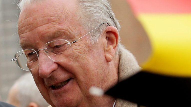 De voormalige Belgische koning Albert II. Beeld ANP