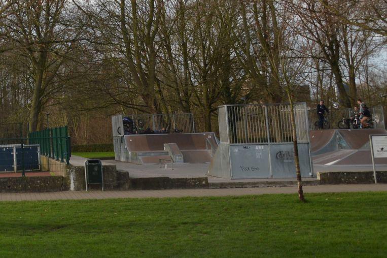 Archiefbeeld skatepark Ninove.