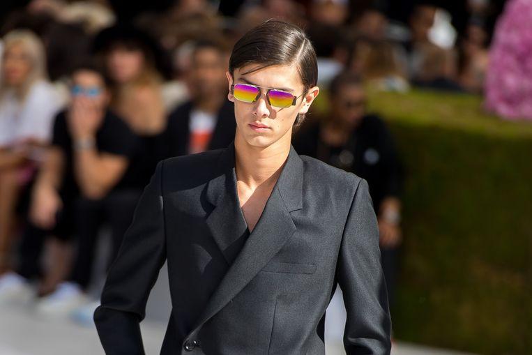 Prince Nikolai van Danemark voor Dior Homme.