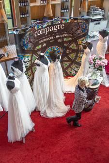 Drukte bij trouwbeurs in De Spiegel: Ja, ik wil, maar wel volgend jaar
