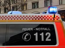 Duitse brandweerman ontdekt eigen vrouw in autowrak