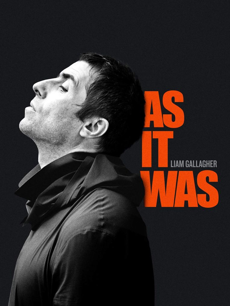 Liam Gallagher documentaire As It Was.  Beeld