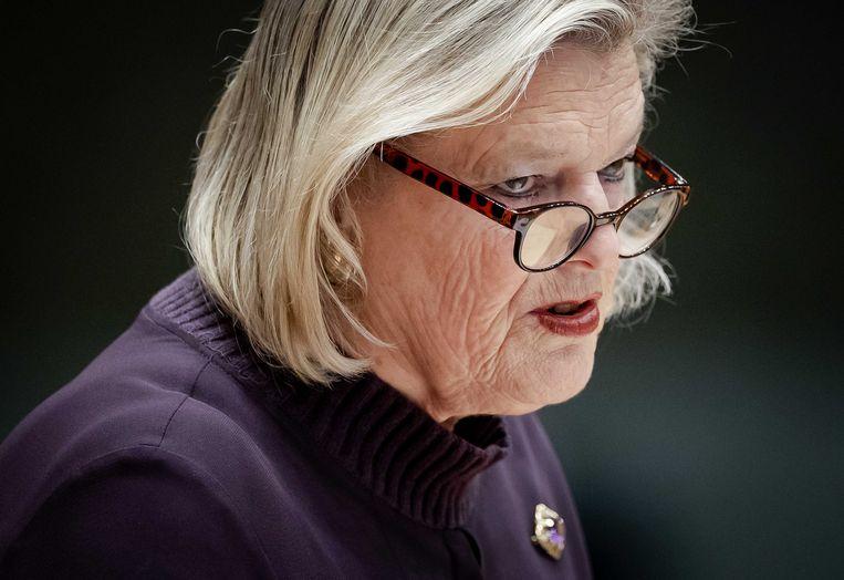 Staatssecretaris Broekers-Knol.  Beeld ANP - Robin van Lonkhuijsen