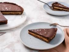Wat Eten We Vandaag: Chocoladetaart met gezouten karamel