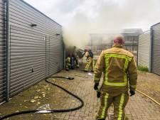 Brand verwoest spullen van vloerder in Eindhoven