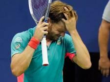 """Goffin éliminé par Shapovalov à l'US Open: """"Je ne sais pas ce qu'il avait mangé"""""""