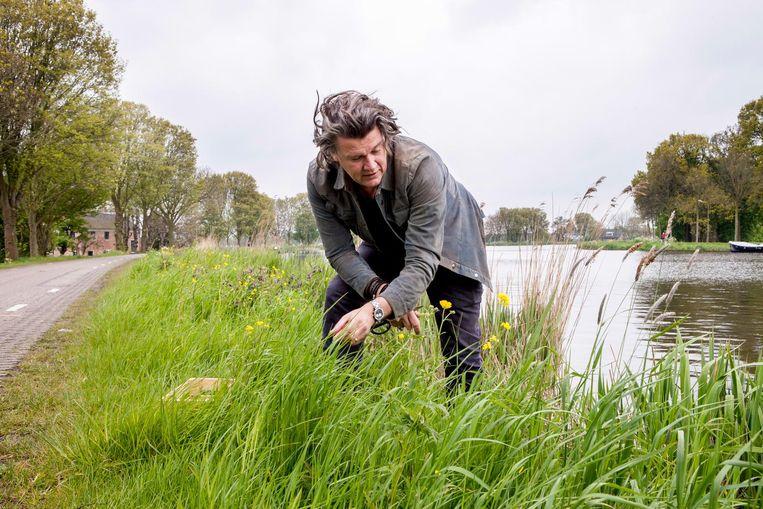 Chef-kok Peter Lute. Beeld Yvonne Brandwijk