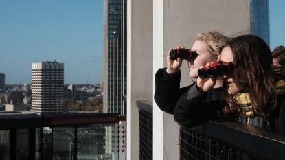Buren van het museum Tate Modern in Londen zijn boos, omdat bezoekers vanaf het museumbalkon zo bij hen naar binnen kunnen gluren