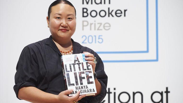 Schrijfster Hanya Yanagihara. Beeld null