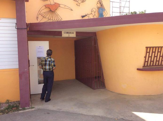 Stemmen op Bonaire.