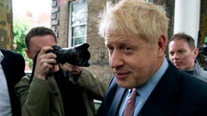"""Boris Johnson past voor tv-debat: """"Het zou toch maar een kakofonie worden"""""""