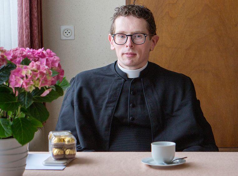 Anton Goos, kapelaan. Beeld Jörgen Caris