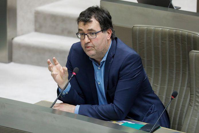 Wouter Van Besien (Groen) heeft veel kritiek op de huidige plannen voor Oosterweel.