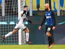 Inter loopt schade op in titelrace