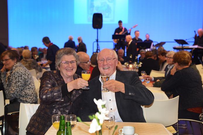 Cees en Ada van der Spek uit Bruinisse  50 jaar geleden.