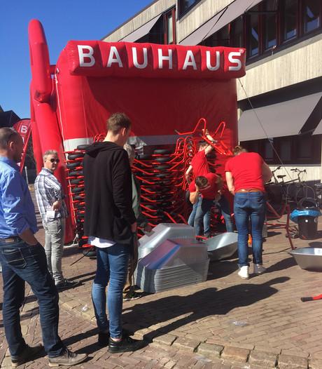 Irritatie over kruiwagens Bauhaus in Oldenzaal