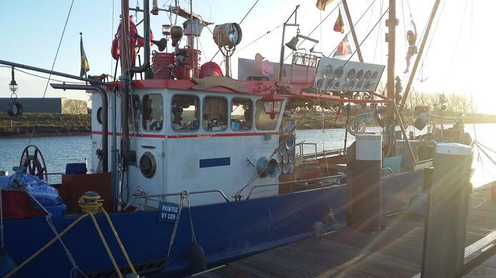 De Republiek Zeelandia is na twee jaar afwezigheid weer even terug in de haven van Zierikzee