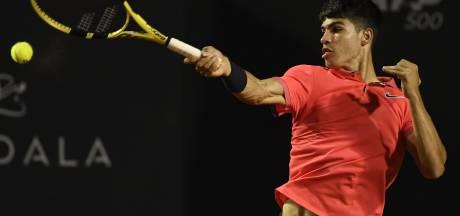 Fin du rêve à Rio pour le jeune Espagnol Alcaraz, 16 ans et plus précoce que Nadal