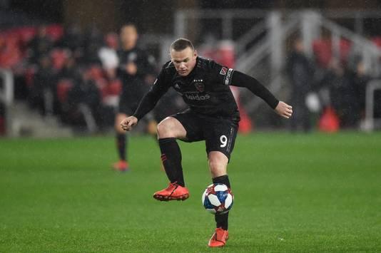 Wayne Rooney, aanvoerder van DC United, in actie tegen Atlanta United.