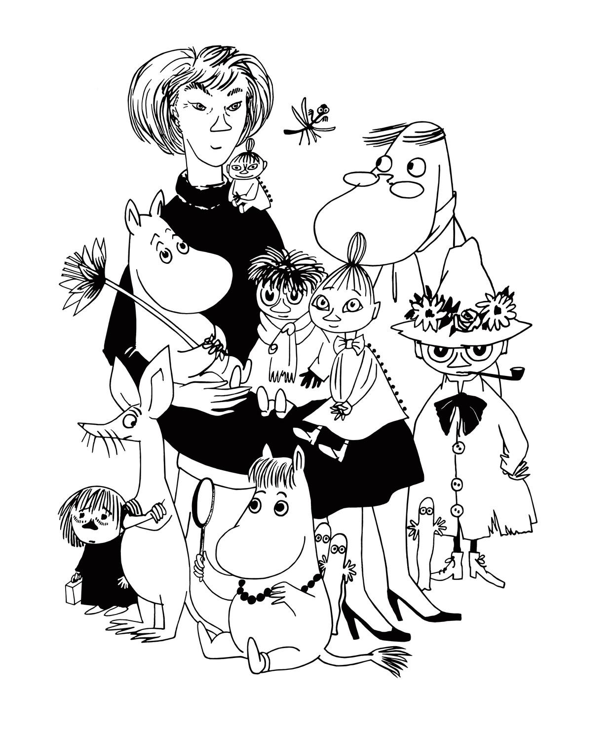 De Moomins Beeld Moomin Characters