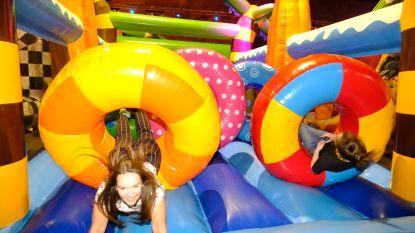 Zondag Apenkuren in sporthal Lovendegem: hele middag speelplezier