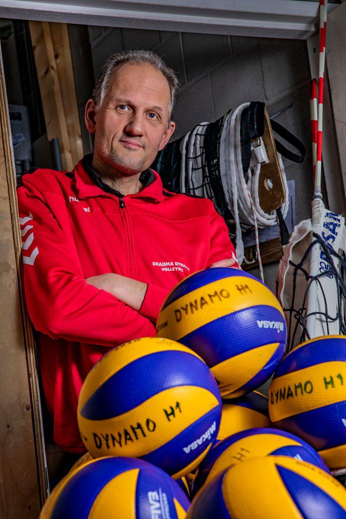 Draisma Dynamo-coach Redbad Strikwerda.