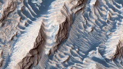 NASA deelt gedetailleerde en adembenemende foto van Mars