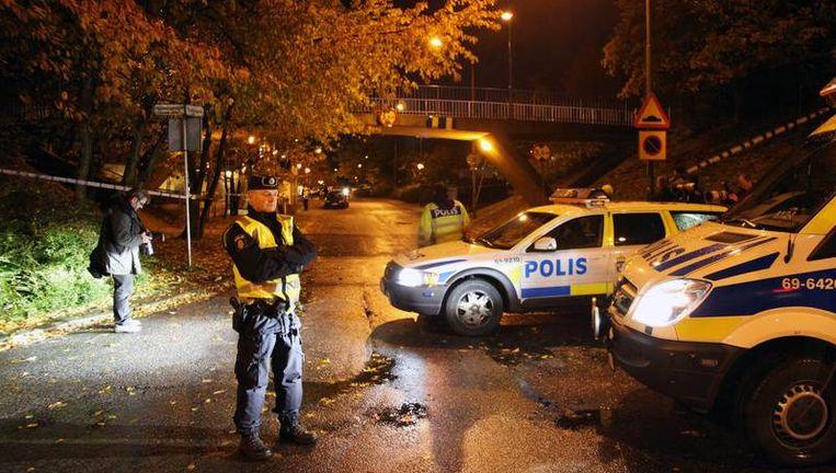 De Zweedse politie onderzoekt sporen naar aanleiding van de jongste schietpartij in Malmö.